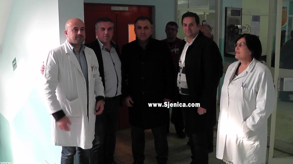 Dom zdravlja u Sjenici od TIKE dobio opremu vrednu 36 000 evra