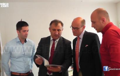 Ambasador Norveske Arne Sannes Bjornstand posetio predstavnike Sjenice na predstojecem muzickom takmicenju - Srbija u ritmu Evrope