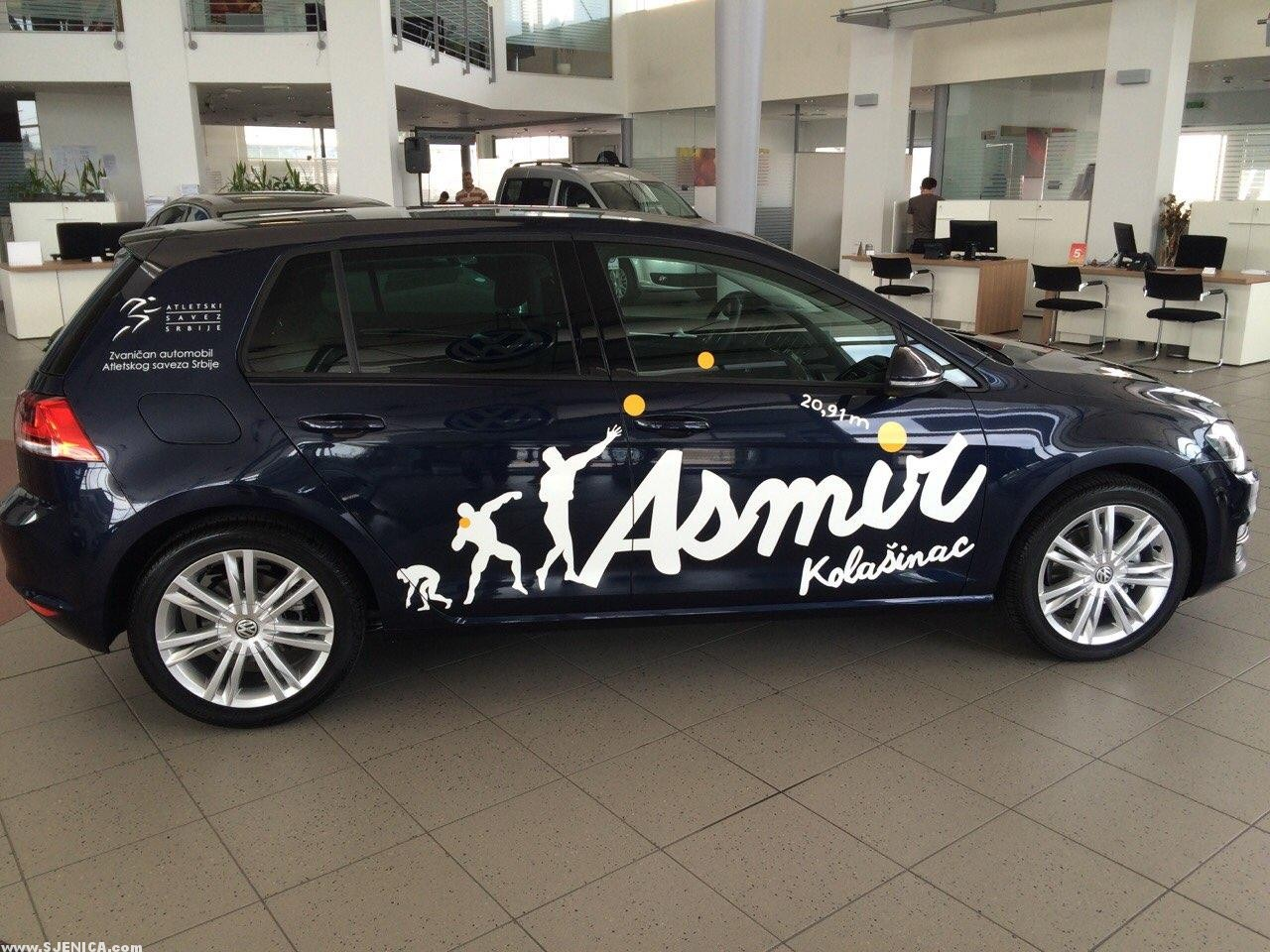 Asmir Kolasinac - Volkswagen sponzor