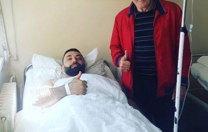 Asmir Kolasinac u bolnici - uspesno operisan - www.Sjenica.com