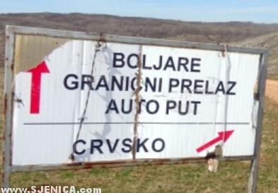 Boljare - Granicni prelaz - auto put - Crvsko - Sjenica