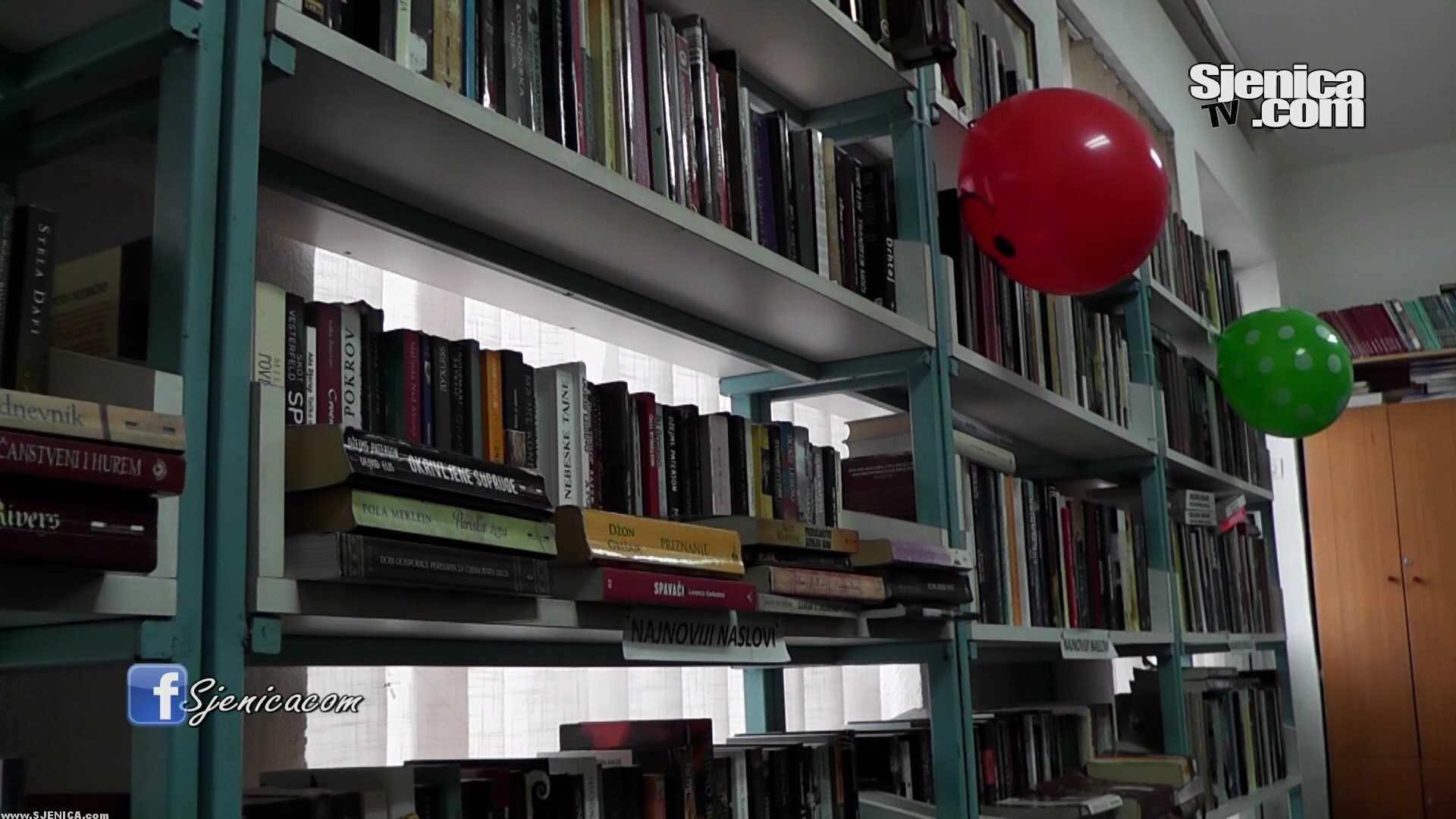 Edina Hamidovic - Direktorka biblioteke Muhamed Abdagic - Izjava - Sjenica - Decembar 2015.