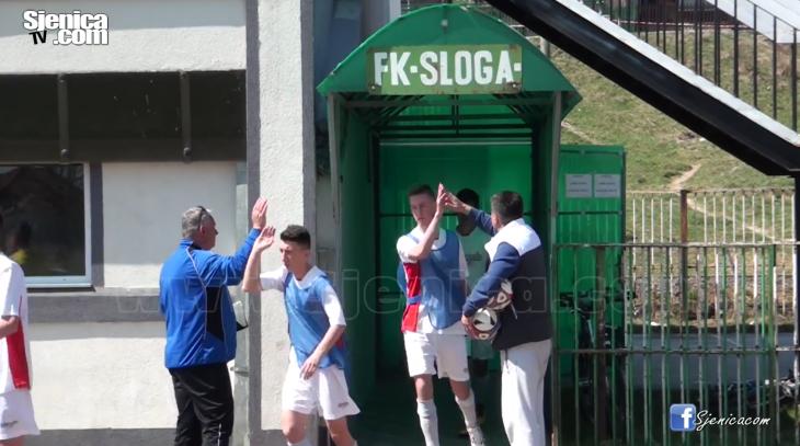 FK SLOGA - Kadeti pred utakmica - Sjenica - donacija - Hasko Hasanovic