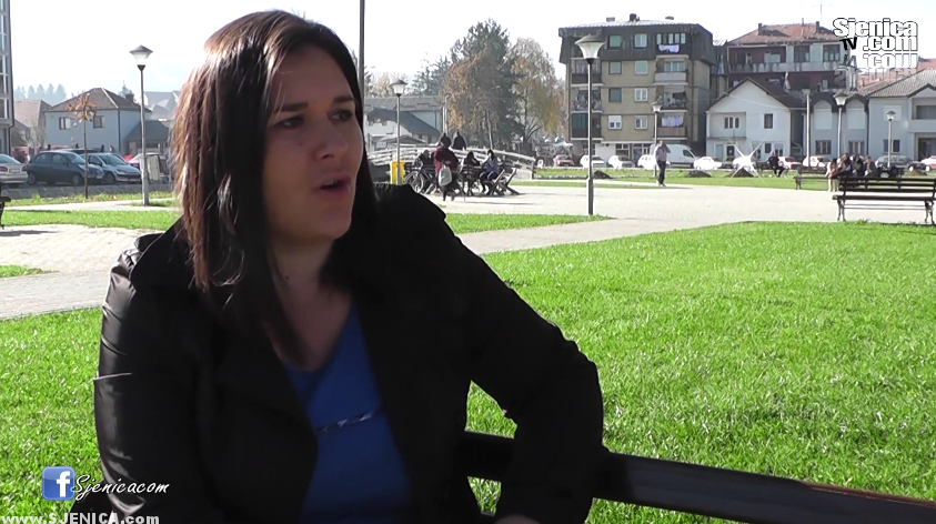 Jasmina Tahirovic izgubila posao u pekari 12.11.2015. Sjenica