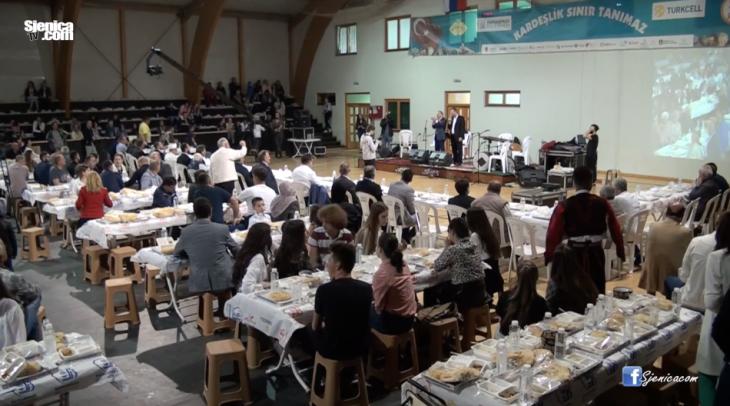 Kolektivni iftar odrzan je u Sjenici - opstina Sjenica - opstina Bajrampasa Istanbul 2017