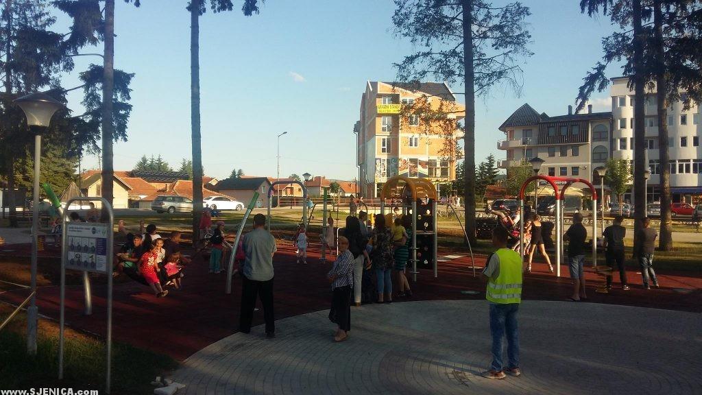 Nivea decji park u Sjenici