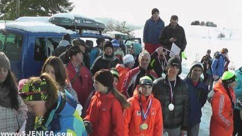 Prvenstvo Srbije skijasko takmicenje Sjenica / Januar 2015