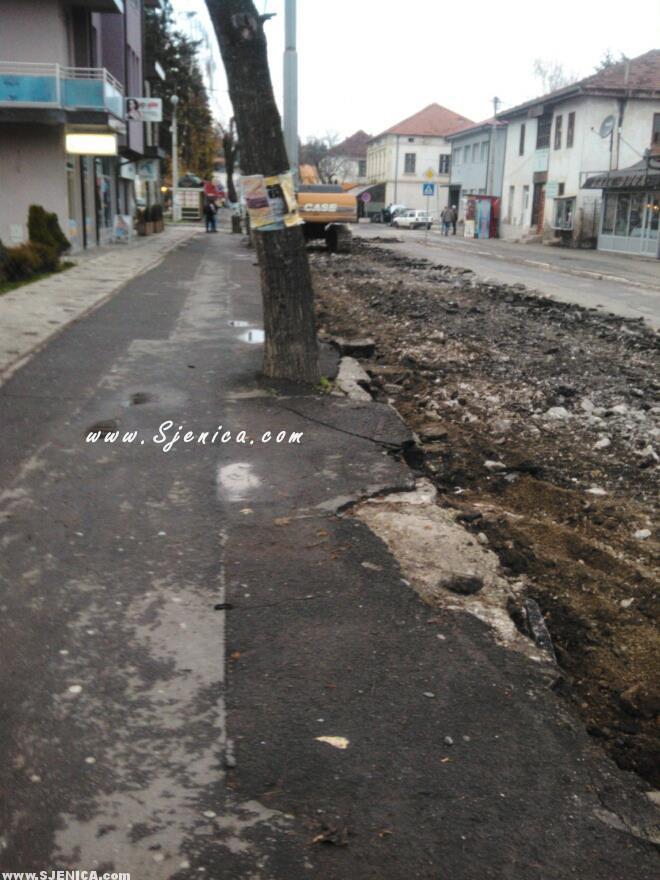 Rekonstrukcija glavne ulice 2