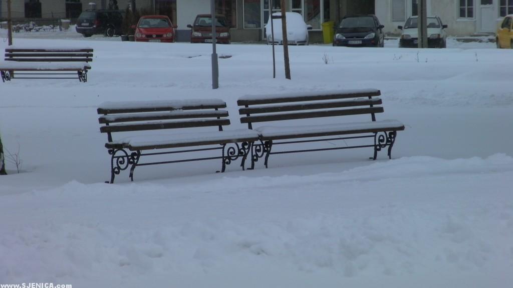Sjenica 18.01.2016. / Snijeg u Sjenici