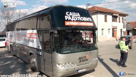 Sasa Radulovic - predsednicki kandidat u Sjenici - mart 2017 - Sjenica