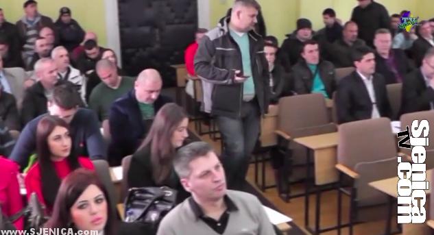 Prva Skupstina opstine Sjenica 05.02.2015. / Sjenica