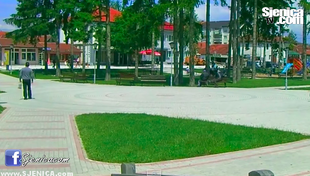 Omladinski park u Sjenici / Jul 2015 / Sjenica