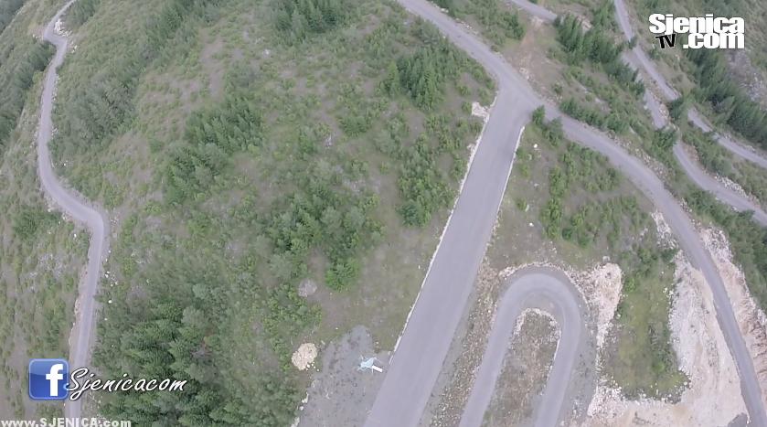 Ski centar Žari - Snimak sa dronom - Avgust 2015.