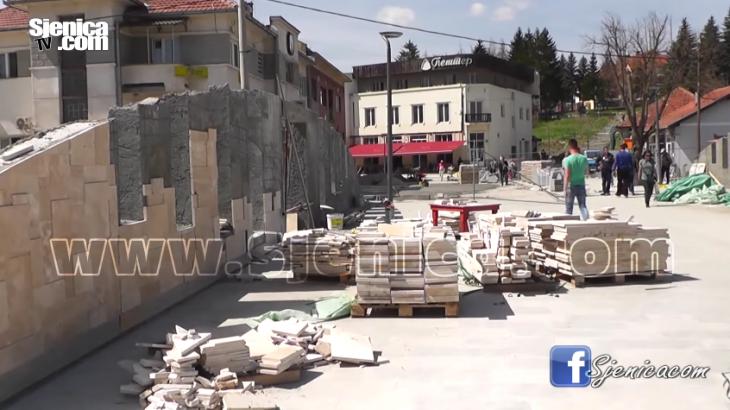 Radovi u Sjenici - April 2016 - Sjenica