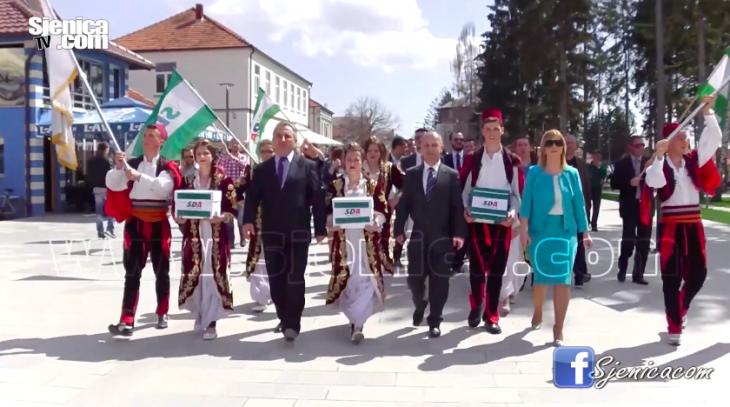 SDA Sjenica predala izbornu listu / Izbori 2016 / April