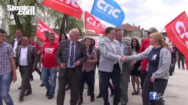 Izbori 2016: Branko Ruzic (SPS) u Sjenici
