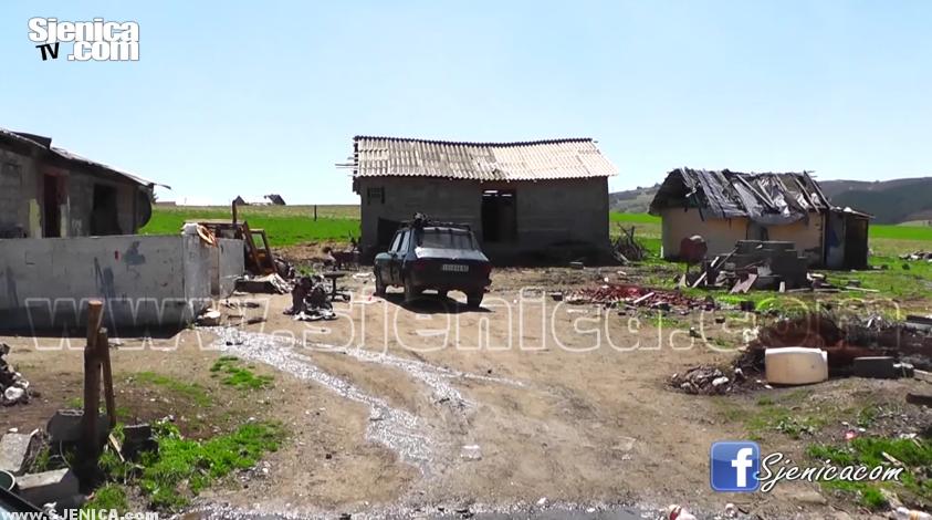 Naselje Fekovića brdo u Sjenici (romsko naselje) Sjenica April 2016