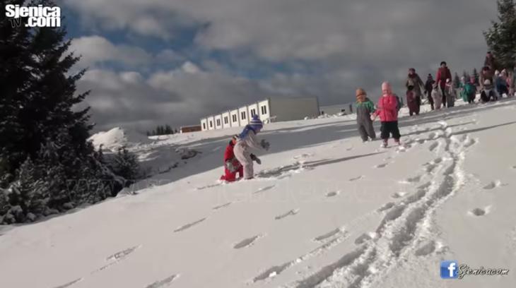 Decije igre na snegu - Ski centar Zari - Sjenicki Maslacak - Januar 2018