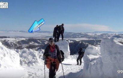 Sjenica u magli - Slikano sa Jadovnika - www.Sjenica.com - Januar 2017