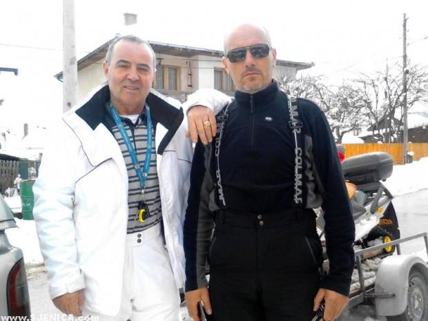 Sjenicki spasioci Ethem Dacic i Meho Ugljanin / Sjenica 2015