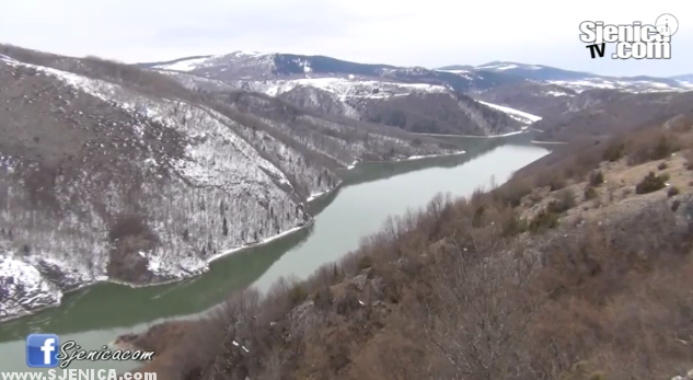 Sjenicko jezero zimi - Mart 2015
