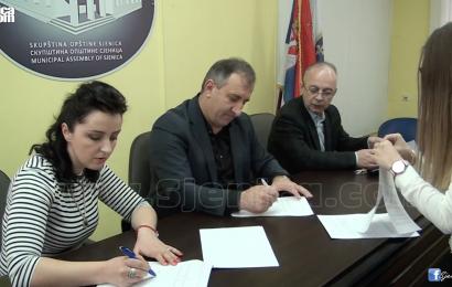 Ugovori o strucnom osposobljavanju 16 visoko obrazovanih polaznika - Sjenica - februar 2017