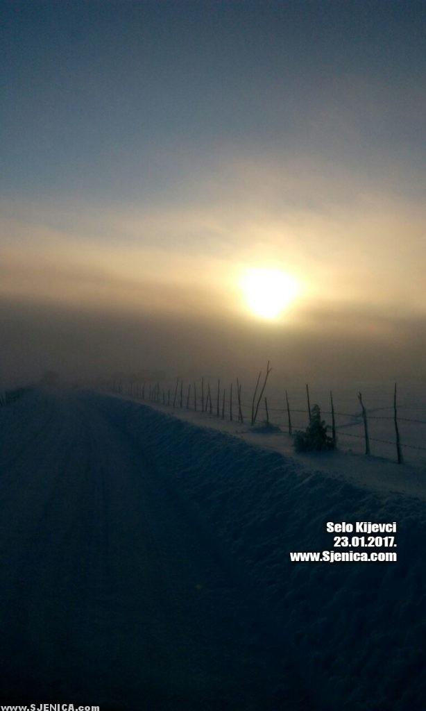 selo Kijevci 23.01.2017. www.Sjenica.com